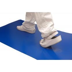 Staub-Stopp-Matte blau – antibakteriell – 4 Matten à 30 Klebefolien / Karton