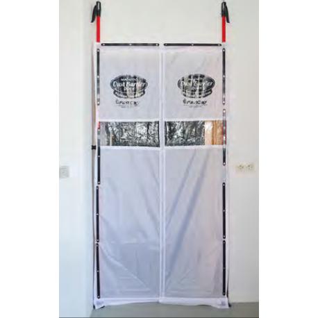 Magnet-Staubschutztür Komplett-Set