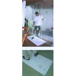 Staub-Stopp-Matte Weiß - 6 Matten à 30 Klebefolien / Karton